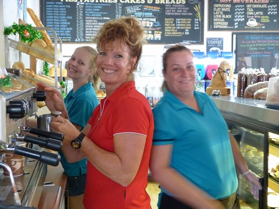 Landsborough, Australia: Great Coffee the smiles come free