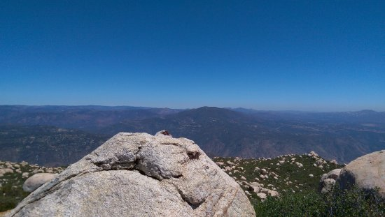 Lakeside, CA: El Cajon Mountain Summit.