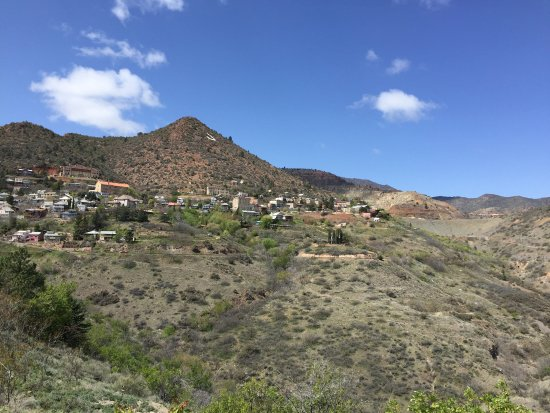 A view of Jerome in the distance.