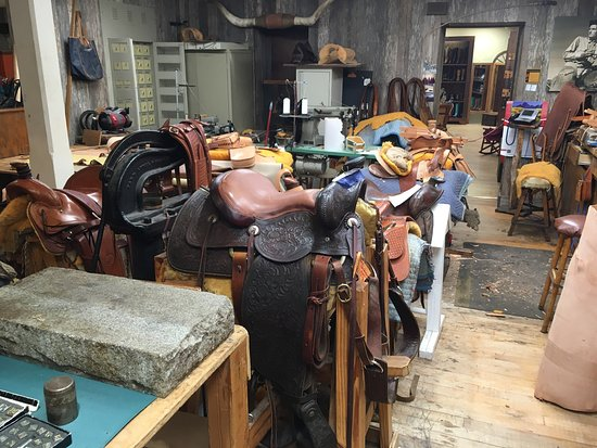 Kingsville, TX: King Ranch Saddle Shop