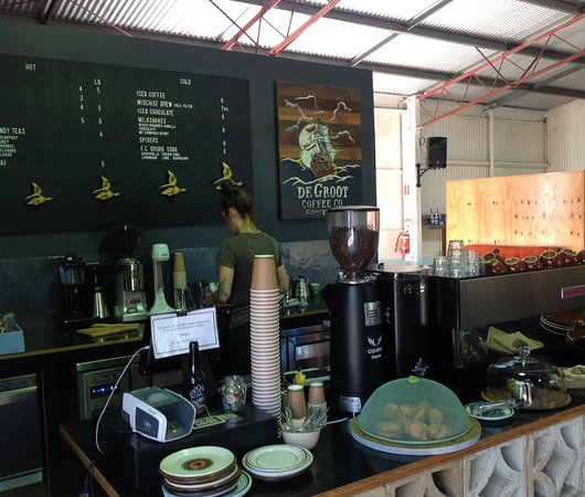 Port Elliot, Australia: De Groot coffee