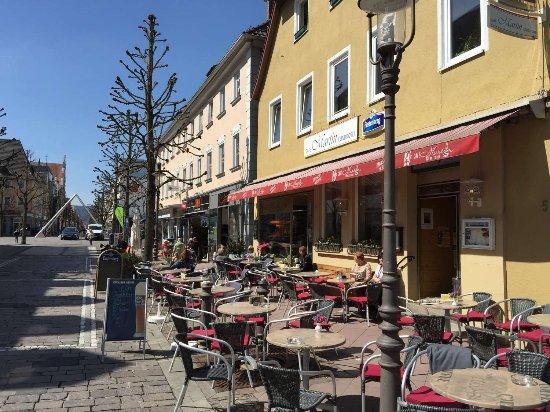 Tuttlingen, Jerman: in der Fußgängerzone