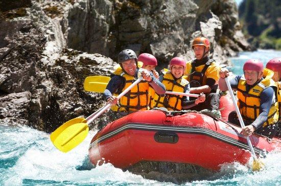 Hanmer Springs Attractions: Hanmer Springs Rafting