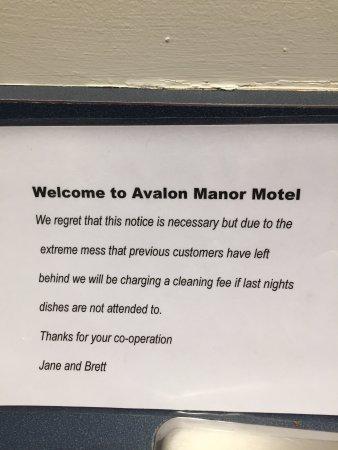 Avalon Manor Motel : photo0.jpg