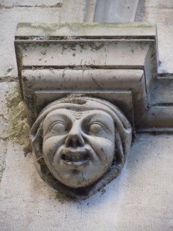 grotesque en façade latéral de la cathédrale picture of