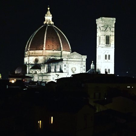 B4 Astoria Firenze: View from the room
