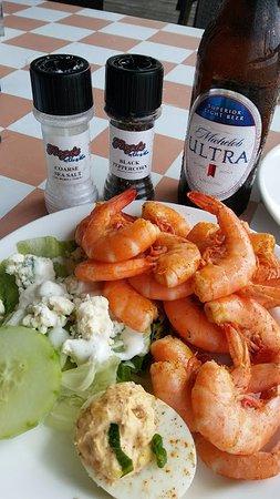 Hitchcock, TX: Shrimp from Sunday Brunch