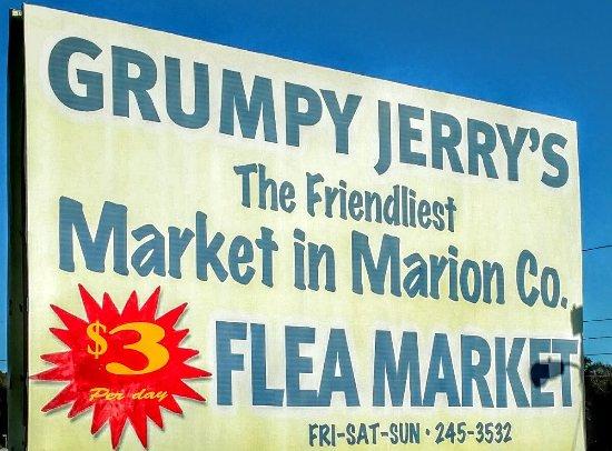 Belleview, ฟลอริด้า: Grumpy Jerry's Flea Market