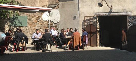 Terrasse Ensoleillée Photo De Le Point Bar Nantes