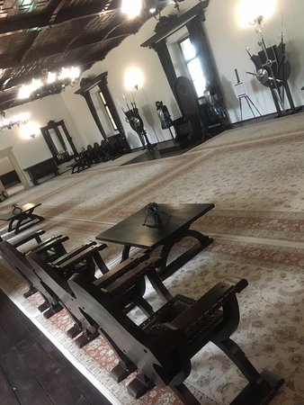 Fagaras Fortress : the throne room