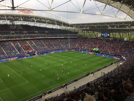 Rb Leipzig Vs Bayer Leverkusen At The Red Bull Arena Picture Of Red Bull Arena Leipzig Tripadvisor