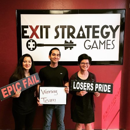 Exit Strategy Games: We seem pretty happy for people who were just brutally murdered.