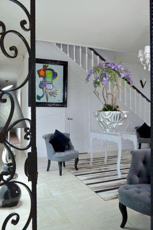 Buzancais, France: Halll d'entrée de l'Hôtel