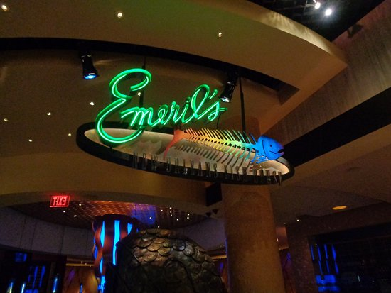Sign picture of emeril 39 s new orleans fish house las for New orleans fish house