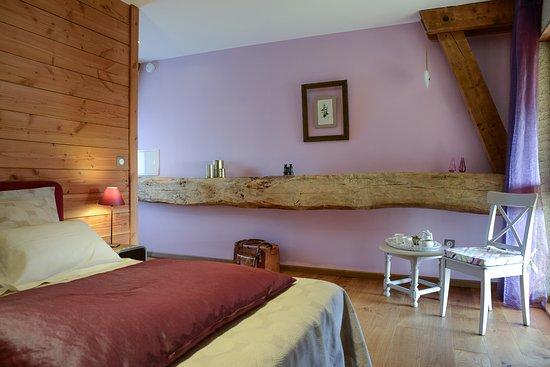 Avressieux, France: Chambre Mélisse (1 lit en 160x200)