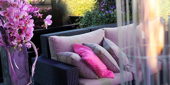 Hengevelde, Holland: Ons (verwarmd) terras met lounge is vanaf april t/m september geopend.