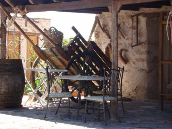 Туйнехе, Испания: la terrasse