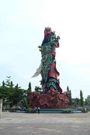 Tuban, Indonesien: Guan Yu Statue