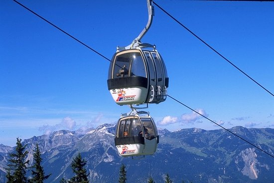 Alpbach, Áustria: Wiedersbergerhornbahn