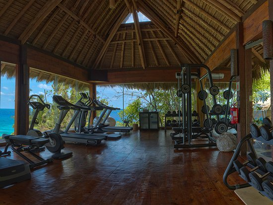 North Island Seychelles: Enjoy an all-round workout using state-of-the-art equipment at the gym