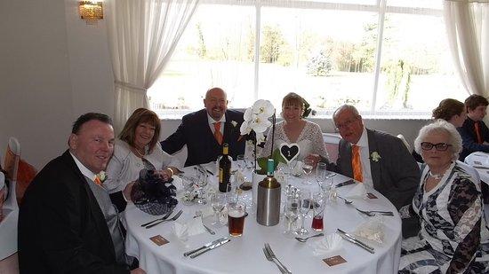 Mildenhall, UK: Wedding reception