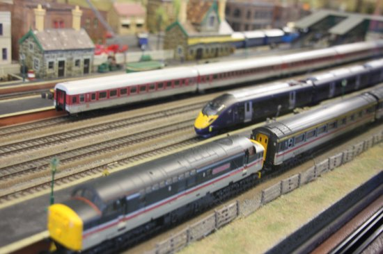 Littlestone-on-Sea, UK: Part of the huge model railway