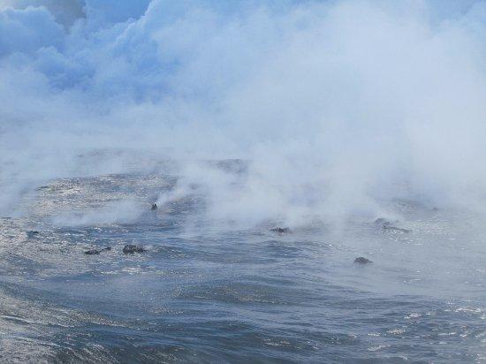 Pahoa, HI: new lava