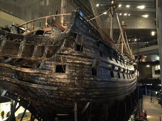 Vasamuseet vasa museum stockholm sweden picture of for Vasa ship