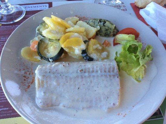 Brehemont, ฝรั่งเศส: pave de brochet sauce citronnée