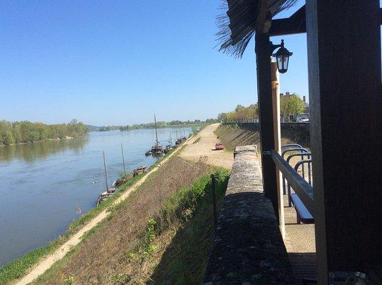 Brehemont, France : vue de la terrasse