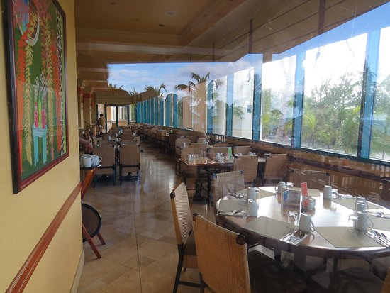 Lighthouse Terrace: Indoor section of restaurant