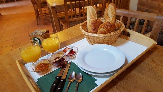 Rille, Francia: Le petit déjeuner