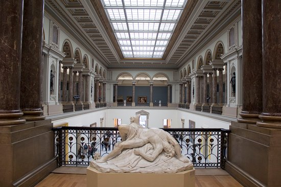 Royal Museums of Fine Arts of Belgium (Musees Royaux des Beaux Arts): The architecture