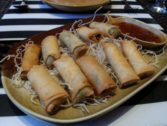 Dasman, คูเวต: Seafood springroll