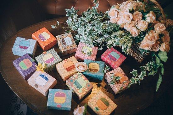 เวียงจูมออน ทีเฮาส์: Tea Sachets Boxes