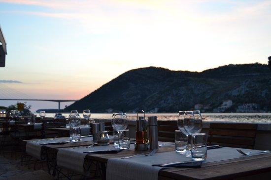 Konoba Bonaca: Terrace view