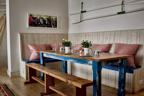St Mawes, UK: Upper Deck - chefs table