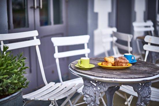 St Mawes Hotel Restaurant Al Fresco Coffee