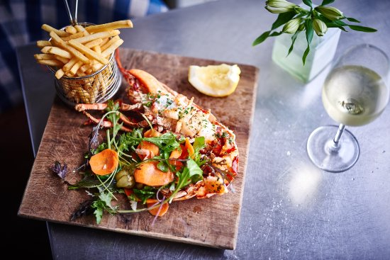 St Mawes Hotel Restaurant Lobster And Fries