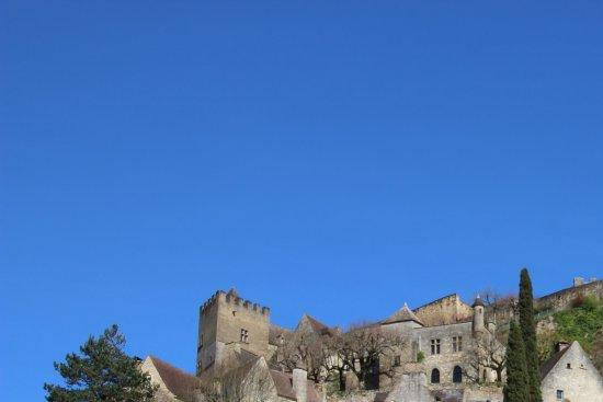 Chateau de Beynac: Château vu du village