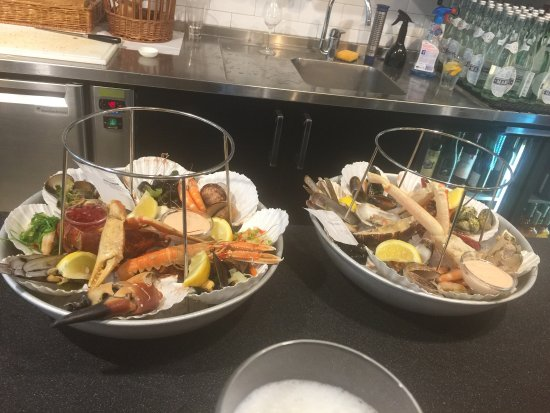 Billede af the seafood bar amsterdam for Seafood bar van baerlestraat amsterdam