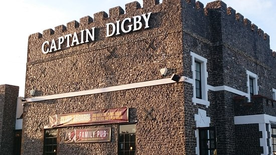 Kingsgate, UK: Captain Digby