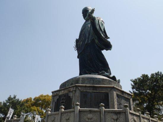 Nichiren Shonin Bronze Statue