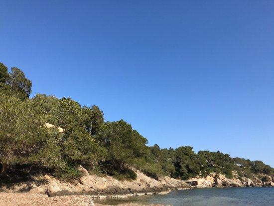 Sant Carles de Peralta, España: Cala Mastella