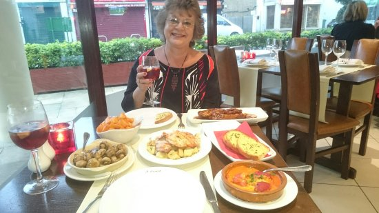 Enjoying Tapas On My Birthday Picture Of La Terraza