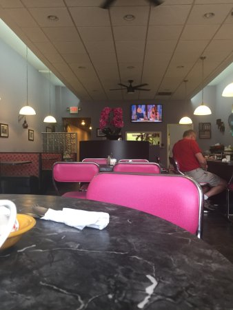 Girard, OH: The dining space