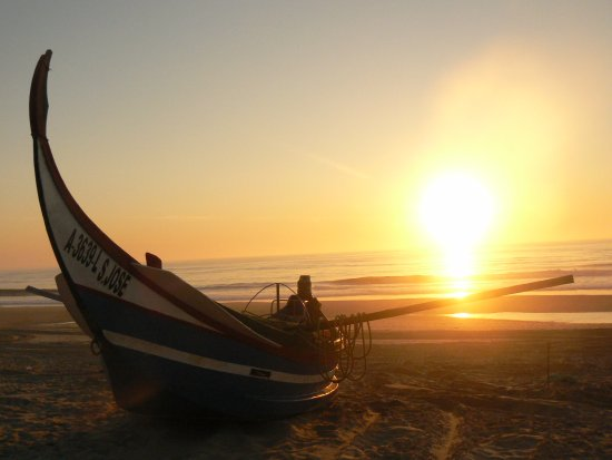 One of many beutiful sunsets we experienced at Praia de Mira