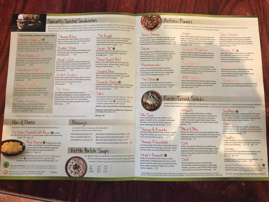 Stupendous image for newks printable menu
