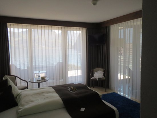 Seehotel Pilatus: Sehr schöne Junior Suite mit sicht auf See