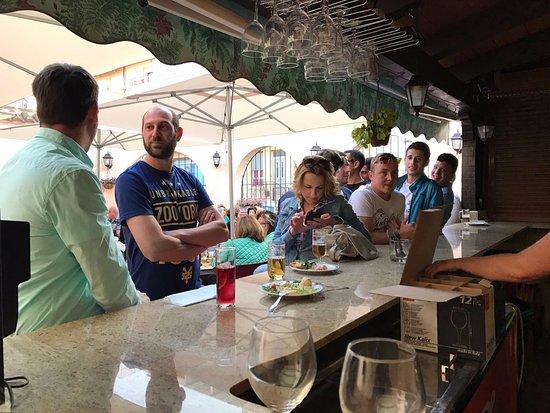 Formentera del Segura, España: Bar en la terraza